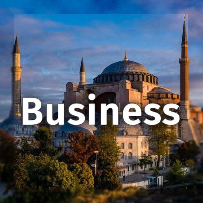 Turkish online business lesson Let's Speak Together